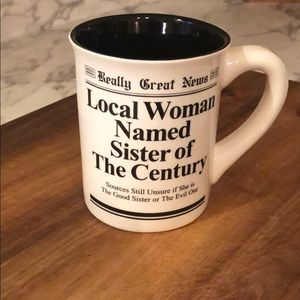 Other - Sister of the century coffee mug